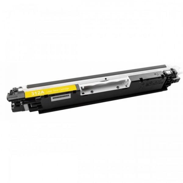 Συμβατό HP 126A CE312A/CF352A Yellow 1.000 Σελίδες Premium Quality