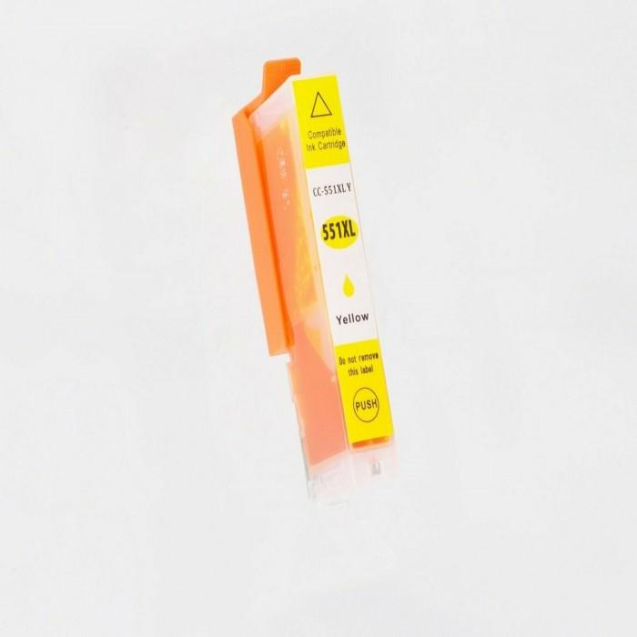 Συμβατό Canon CLI-551XL Yellow 6446B001