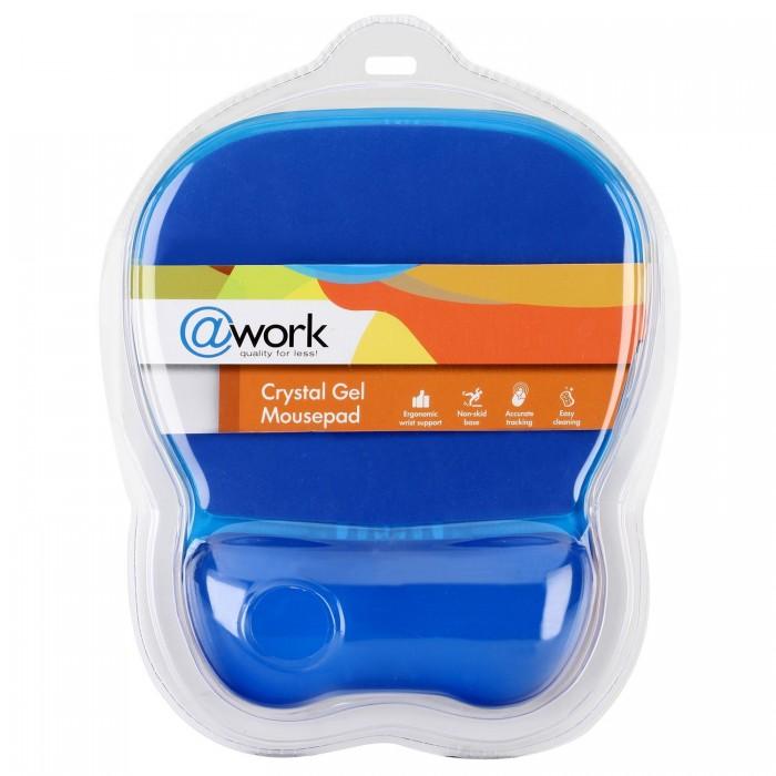 Mousepad @Work Crystal Gel, Μπλε