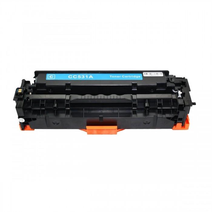 Συμβατό HP CC531A/CE411X/CF381X/ CRG-118/CRG-718 Cyan 2.800 Σελίδες Premium Quality