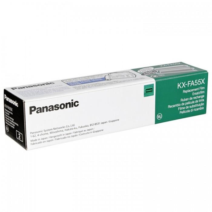 Αυθεντική Μελανοταινία Panasonic KX-FA55X (2 Τεμάχια)