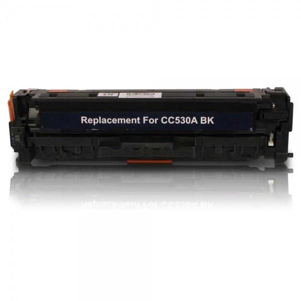 Συμβατό HP CC530A/CE410X/CF380X/ CRG-118/CRG-718 Black 3.500 Σελίδες Premium Quality
