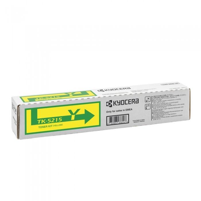 Αυθεντικό Kyocera TK-5215Y 1T02R6ANL0 Yellow 15.000 Σελίδες