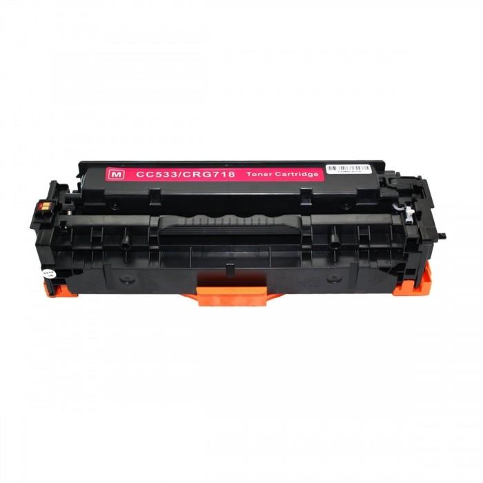 Συμβατό HP CC533A/CE413X/CF383X/ CRG-118/CRG-718 Magenta 2.800 Σελίδες Premium Quality