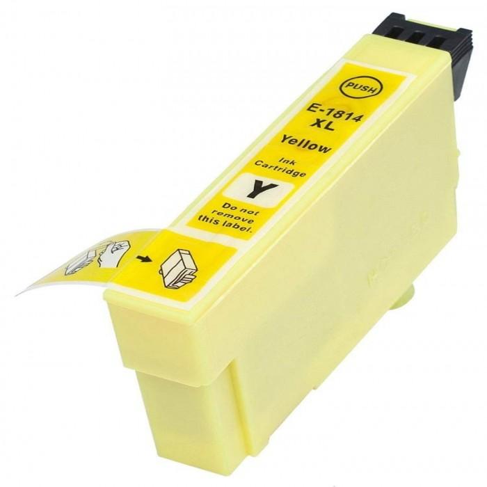 Συμβατό Epson T1814XL Yellow C13T18144010