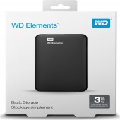Εξωτερικός Δίσκος Western Digital Elements Portable 3 TB USB 3.0 WDBU6Y0030BBK