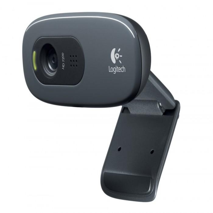Logitech Webcam C270 HD , Black