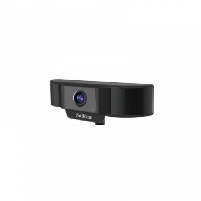 SriHome Webcam SH037 FULL HD , Black