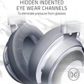 Razer KRAKEN PC/Console Gaming Headset – Mercury White RZ04-02830400-R3M1