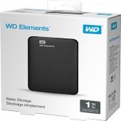 Εξωτερικός Δίσκος Western Digital Elements Portable 1 TB USB 3.0 WDBUZG0010BBK