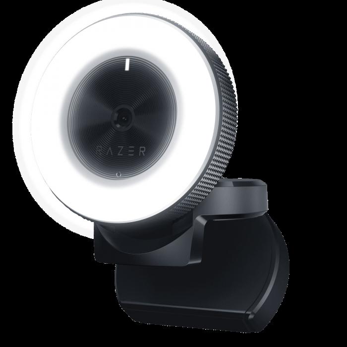 Web camera Razer Kiyo Ring Light Equipped Broadcasting Camera RZ19-02320100-R3M1