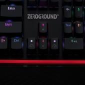 Πληκτρολόγιο Zeroground KB-2800G Satomi Red Switches