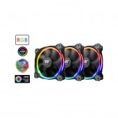 Thermaltake Riing 12 LED RGB Radiator Case Fan Sync Edition CL-F071-PL12SW-A πακέτο 3 τεμαχίων