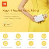 Φορητός εκτυπωτής Xiaomi Mi Pocket Photo Printer MKDDYJ01HT