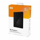 Εξωτερικός Δίσκος Western Digital My Passport 2.5¨ Usb 3.2 - 2TB Black WDBYVG0020BBK-WESN