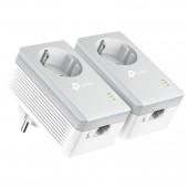 Ethernet Powerline TP-LINK TL-PA4010PKIT v5 AV600 Passthrough Starter Kit