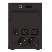 UPS POWERWALKER VI 1200 SHL SCHUKO LCD 1200VA/600W LINE INTERACTIVE 10120097