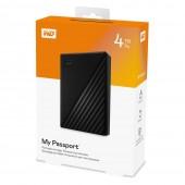 Εξωτερικός Δίσκος Western Digital My Passport 2.5¨ Usb 3.2 - 4TB Black WDBPKJ0040BBK-WESN