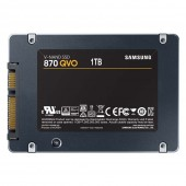 """Σκληρός Δίσκος SSD Samsung 870 QVO 2.5"""" 1TB Sata III MZ-77Q1T0BW"""