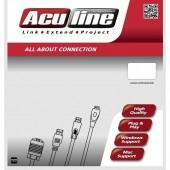 Καλώδιο Δικτύου Aculine UTP Patch CAT5 UTP-005 5 μέτρα γκρι