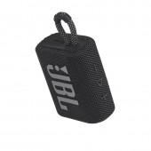 Φορητό Ηχείo Bluetooth JBL Go 3 IP67 Μαύρο Αδιάβροχο JBLGO3BLK