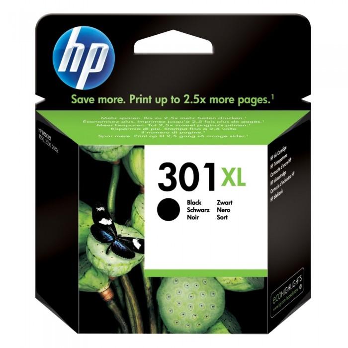 Αυθεντικό HP 301 XL Black CH563EE
