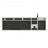Πληκτρολόγιο Logitech G413 Silver White US Layout 920-008476