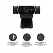 Logitech Webcam C922 Pro Stream FULL HD 960-001088