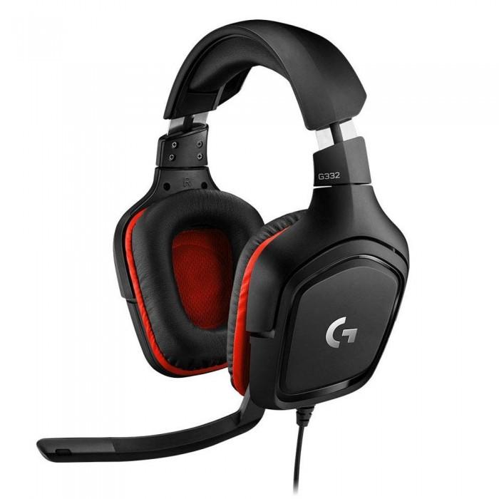 Headset Logitech G332 Μαύρο 981-000757