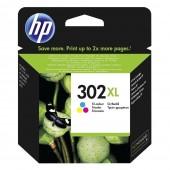Αυθεντικό HP 302XL Color F6U67AE