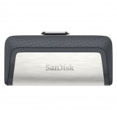 SanDisk Ultra Dual USB 3.1 Type C 64GB Ασήμι SDDDC2-064G-G46