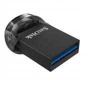 SanDisk Ultra Fit USB 3.1 128GB Μαύρο SDCZ430-128G-G46