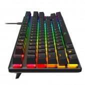 Πληκτρολόγιο HyperX Alloy Origins Core RGB Mechanical HX Red Switches US Layout HX-KB7RDX-US