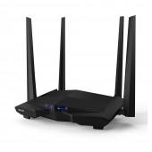 Router Tenda AC10U AC1200 Dual-Band 10/100/1000Mbps Μαύρο