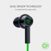 Razer Hammerhead Duo In-ear Handsfree πράσινο RZ12-03030200-R3M1