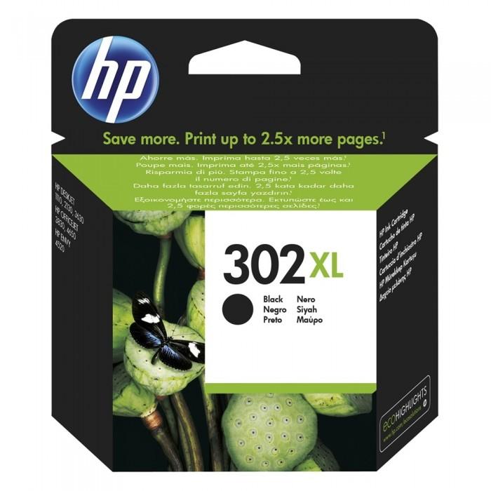 Αυθεντικό HP 302XL Black F6U68AE