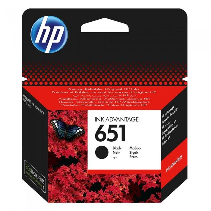 Αυθεντικό HP 651 Black C2P10AE