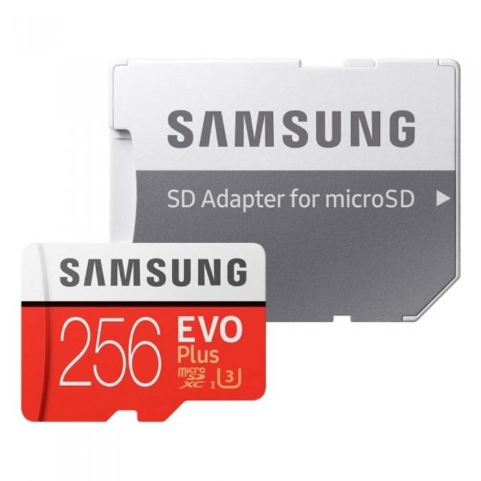 Κάρτα Μνήμης Samsung Evo Plus microSDXC 256GB U3 with Adapter 2020 MB-MC256HA/EU