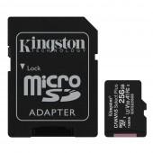 Κάρτα Μνήμης Kingston MicroSDXC Class 10 Canvas Select Plus 100R A1 256GB + SD Adapter SDCS2/256GB