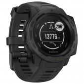 Smartwatch Garmin Instinct 45mm Μαύρο 010-02064-00