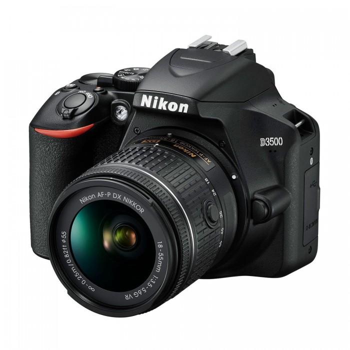 Φωτογραφική Μηχανή DSLR Nikon D3500 Kit AF-P DX 18-55mm VR