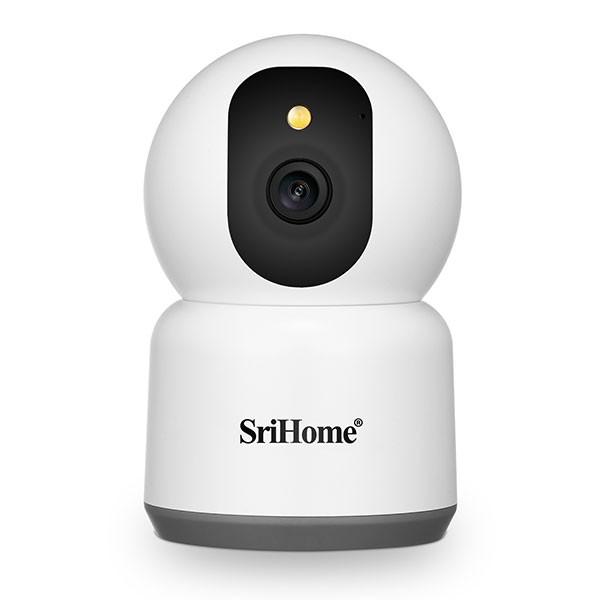 Ασύρματη IP CAMERA SRIHOME SH038 5G 1440p εσωτερικού χώρου με νυχτερινή λήψη/Τεχνιτή νοημοσήνη