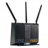 Modem/Router Asus DSL-AC68U VDSL2 Μαύρο 90IG00V1-BM3G00