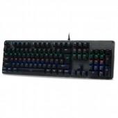 Μηχανικό Πληκτρολόγιο Zeroground KB-2950G SIMETO v2.0 Blue Switches RGB US Layout