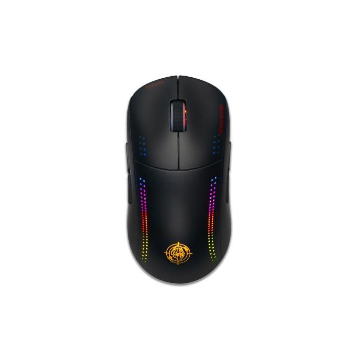 Ασύρματο Ποντίκι Zeroground RGB MS-4300WG KIMURA v3.0 Μαύρο