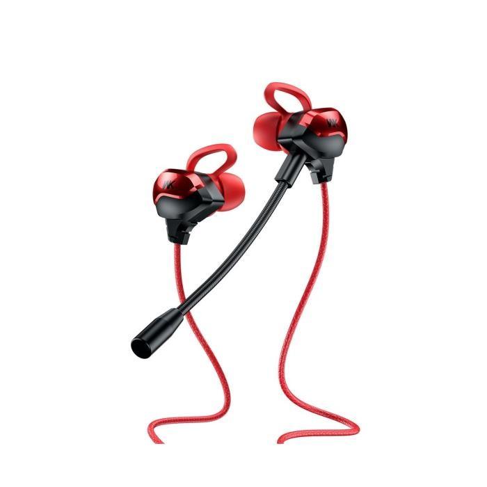 Headset WK ET-Y30 Κόκκινο