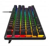Πληκτρολόγιο HyperX Alloy Origins Core RGB Mechanical HX Aqua Switches US Layout HX-KB7AQX-US