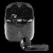 Ασύρματα Ακουστικά Bluetooth με Θήκη Φόρτισης JBL Tune 225TWS Ημιδιάφανα JBLT225TWSGHOSTBLK