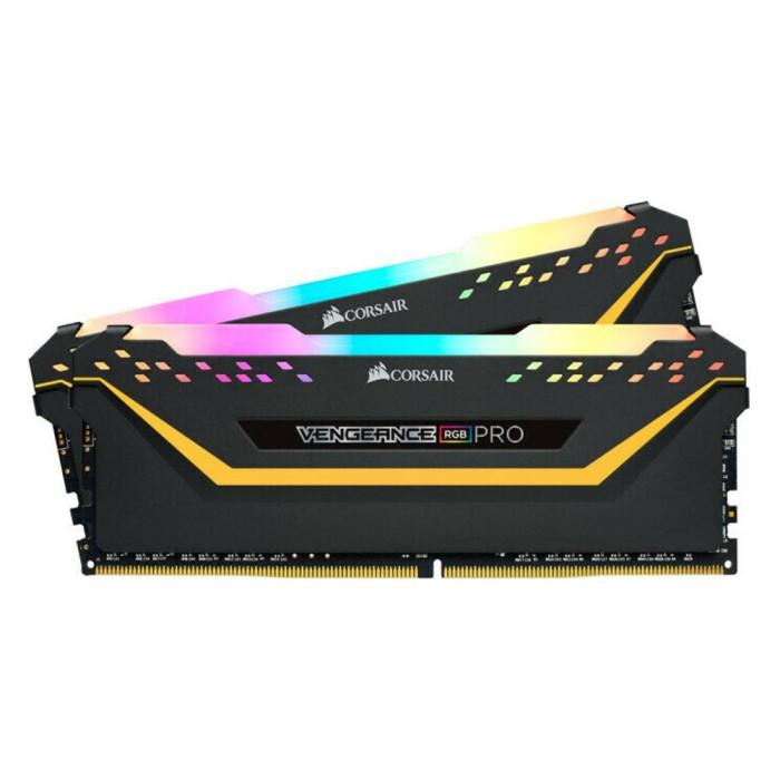 Ram Corsair Vengeance RGB Pro 16GB DDR4 (2 x 8GB) DDR4-3200MHz CMW16GX4M2C3200C16-TUF