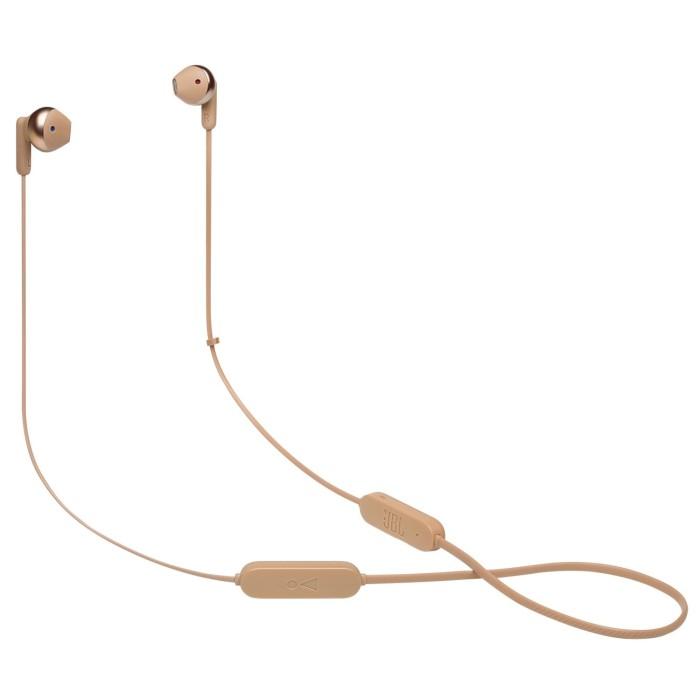 Ακουστικά handsfree bluetooth JBL Tune 215BT Χρυσό JBLT215BTCGD